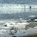 Gespiegelte Gipfel im Gletschersee