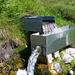 Unterwegs zur Bisse d'Ayent:  moderner Brunnen