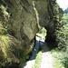 L'un des petits tunnels du Gorperi Suon