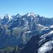 Wetterhorn, Eiger, Mönch und Jungfrau