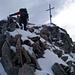 Die letzen Meter zum Grossen Fusshorn