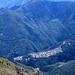 Sasso (710 m) und das Valle Antrona.