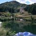 Blick zurück zum Moncucco von der Alpe Casaravera.
