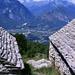 Ausblick von einer namenlosen Alp oberhalb Parpinasca.