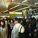 Inmitten von Tausenden von Japanern, alle Tokyo gestylt fühlte ich mich mit Rucksack, Pickel und Bergschuhen etwas seltsam.