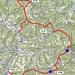 """Route und Durchgangszeiten der """"Wand-Trilogie"""""""