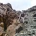 gleich ist der Rand des Gletschers erreicht, die rutschigen Parts vorerst zuende..