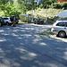 der kleine Parkplatz