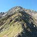 Auf dem Nordost-Grat dem Gipfel entgegen