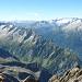 Blick vom Gipfel gegen Südwesten