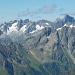 Blick vom Gipfel gegen Westen