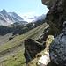 Passage rocheux, en regardant vers Obers Fulmoos
