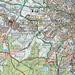 Freizeitkarte mit Routen zum Vaalserberg.