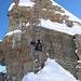 Die legendäre Beverin Leiter in voller Grösse (12m hoch)