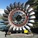 riesiges Turbinenrad