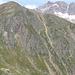 Blick vom Aufstieg des Tröglers zur gegenüberliegenden Seite<br /><br />Egesengrat mit den Fernau Klettersteigen (schaut in meine Tourenberichte ;))