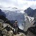 fast am Gipfel ;) nun zeigt sich auf der Wilde Pfaff von seiner besten Seite - und der Zuckerhütl wird mystisch von Wolken verhüllt