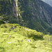 Blick auf den weiteren Abstieg zur Sulzenaualm von der Sulzenauhütte