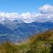 Die Berner Alpen verstecken sich noch