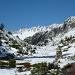 Frisch verschneit, im Aufstieg zur Salbithütte, Blick gegen Westen
