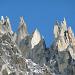 Felsspitzen am Nordwestgrat zum Salbitschijen