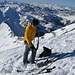 On Top of Männliflue 2652m