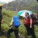 Wie Touristen... ;-) Auf dem Weg zur Glärnischhütte...<br />Foto von Beat!