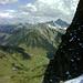 Ausblick nach Osten über Faschina hinweg zum Zitterklapfen