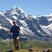 Am Gipfel: das berühmte Grindelwalder Vier-Gestirn:<br />Eiger , Mönch, Jungfrau und ..... [u Jackthepot]
