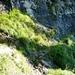 Eingehauener Weg zwischen Alpe Stüell und Capanna d'Alpe d'Alva
