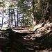 Steiler Anstieg am Glanzer Berg