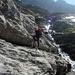 """Ab dem Pt 2068, am Ende der Gletschermoräne, wird der Hüttenweg dann """"ernst""""..."""