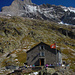 Die Glecksteinhütte fotografiert einmal im Herbst