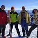 Hans, ich ([u mali]), Werner ([u Hawkeye]) und Carola auf dem Gr. Ochsenkopf. Und natürlich der Herbert ([u Climby]) hinter der Kamera.