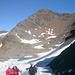 Schaufelspitze mit kleinem Gletschersee