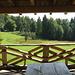 Terrassenplatz - erste Reihe sozusagen - Jagdhütte Breitmatt