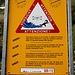 Grasso della Froda: è pericoloso sostare in riva al fiume.