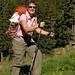 Gill im Aufstieg zur Alp Cazirauns