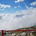 Le nuvole coprono la valle