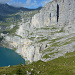 Die Fründenschnur, das mittlere Band durch die Felswand