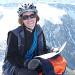 Judith auf dem Gipfel des Fründenhorn