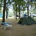 Camp Isola in Gudo, unser Basislager...