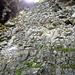 Bröckelige Felsen an der Barenburg