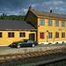 Typischer Bahnhof an der Nordlandsbahn