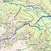 Übersicht TopoÖsterreich: ROT aufstieg, GRÜN abfahrt