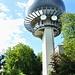 Radarturm von Skyguide kurz vor der Hochwacht.