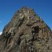 Gipfelaufbau des Jegihorns von Südosten
