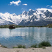 Am Chrizbode, Blick zu den Viertausendern über Saas-Fee