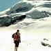 Am Feegletscher, oben das Allalinhorn