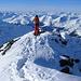 Auf dem Gipfel des Gorihorn 2986m